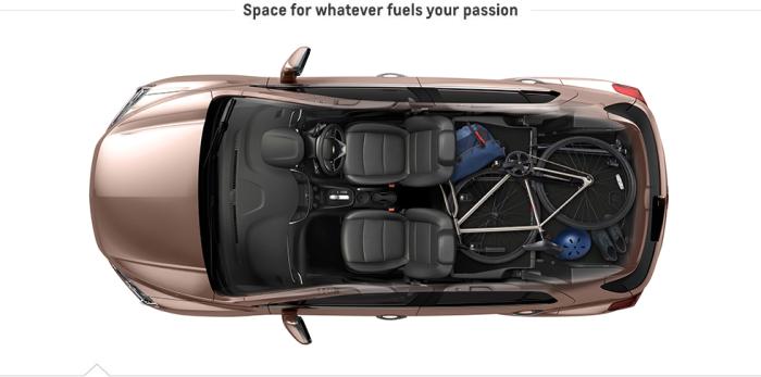 Gambar Keluasan Interior Chevrolet Trax Tahun 2015